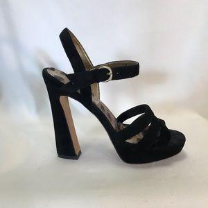 Sam Edelman Taryn suede platform sandals
